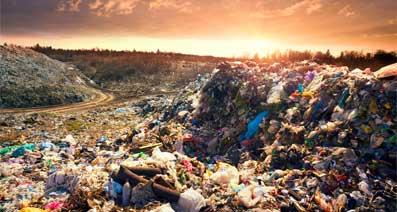 Rubbish at the Landfill